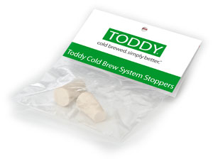 Toddy Rubber Stopper 2 packs