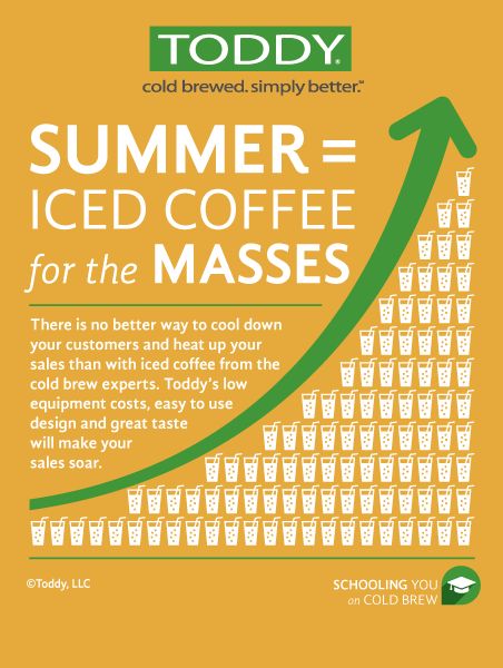 iced coffee for the masses